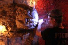 salle rouge 25m sous terre du coté de l'observatoire... : Nolimit... | psyckoze