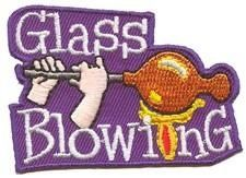 Glass Blowing fun patch. Iron-on! #6882176 | $1.50