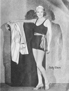 vintage everyday: Beautiful Hollywood Swimsuit Fashions of the 1930s