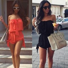 Sexy Mini Playsuit Ladies Jumpsuit Summer Shorts Beach Casual Dress