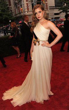 Amy Adams @ 2012 Met Gala, dress from Giambatista Valli