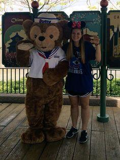 """Taught Duffy the Disney bear how to Sic 'Em this morning! "" (Via @_jme_jennings24 on Twitter)"