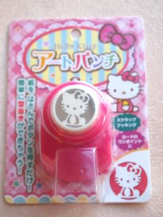 Hello Kitty Paper Punch