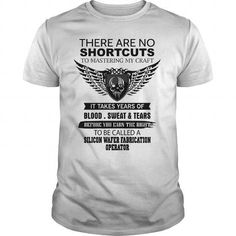 THERE ARE NO SHORTCUTS TO MASTERING MY CRAFT SILICON WAFER FABRICATION OPERATOR T-SHIRTS, HOODIES, SWEATSHIRT (19$ ==► Shopping Now)