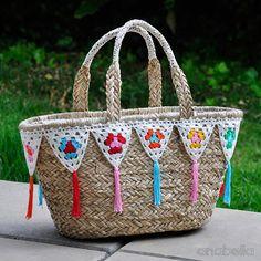 Customized beach bags by Anabelia