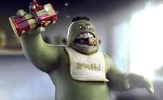 Baby Hulk final art
