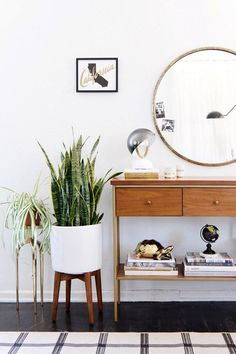 Anne Sage + West Elm - Mid-Century Entryway
