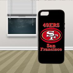 NFL SF San Francisco 49ers HYBRID iPhone 5 5s Case Cover