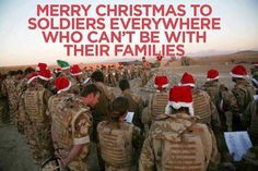 Merry Christmas to soldiers everywhere