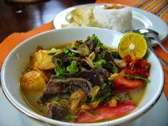TTM|Tips Trik Memasak: Resep Soto Tangkar