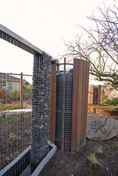 Very creative way to hide a giant rain cistern