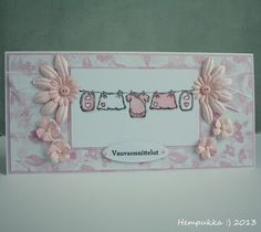 baby clothes line pink