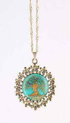"""most desirable above all other [necklaces]""  ~1 Nephi 8:12   Tree of Life pendant 命の木ペンダント Glow in the Dark Gospel Jewelry"