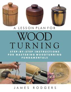 "A Lesson Plan for Woodturning  Written by a professional woodturning instructor with over a decade's teaching experience, ""A Lesson Plan for Woodturning"" is a systematic, skill-building introduction that helps beginning woodturners master basic woodworking techniques on their own.  ""A Lesson Plan for Woodturning"" provides a complete, self-directed course in woodturning safety, tools, and techniques that will help any beginning woodturner learn the basics on his or her own time. Using…"