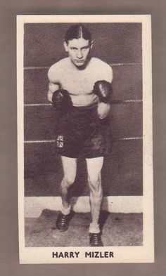 1938 Cartledge Boxing Harry Mizler