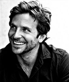 Smile, first thing I notice about someone. Bradley Cooper, you fine.