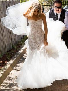 Steven Khalil custom dress Size 2 Wedding Dress – OnceWed.com