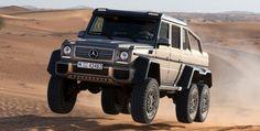 Really?   Mercedes-Benz G63 AMG 6x6 Showcar, Dubai 2013