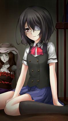 Another - Misaki Mei Manga Girl, Anime Manga, Anime Art, Another Misaki Mei, Best Wallpapers Android, Fanart, Another Anime, Cute Anime Guys, Anime Girls