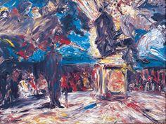 "pixels Jack B Yeats ""Chairoplanes"" Contemporary Artists, Modern Art, Limerick City, Jack B, City Gallery, Irish Art, Romanticism, Word Art, Impressionist"