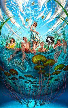 reflections oil on canvas- Mark Kavanagh