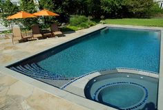 Swimming Pools Gallery | Seaside Mosaic | Custom Pool Design Stamford CT