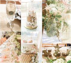Wedding Flowers   Bridal Bouquets   Centerpieces   Flowers  #BurlapandLace