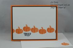 My Elegant Cards - Wickedly Sweet Treat - CAS - Liz Bailey - Independent Stampin' Up! Demonstrator - Paper Pumpkin September