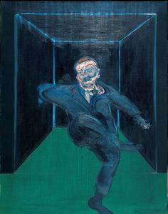 Francis Bacon | Sitzende Figur - Seated Figure | 1960 | © Francis Bacon: Estate of Francis Bacon/ Bildrecht, Wien 2015 | Albertina, Wien - Sammlung Batliner  #MonettoPicasso #MonetbisPicasso