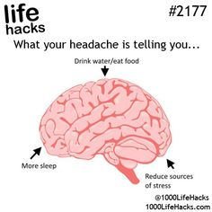 This is smart, now whenever I have a headache I'll know what's it's from. More