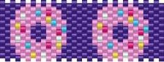 Kandi Patterns for Kandi Cuffs - Food Pony Bead Patterns