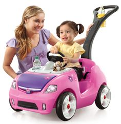 Whisper Ride II Push Car