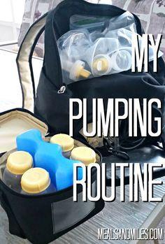 pumping routine