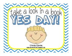 Have you read YES DAY! by Amy Krouse Rosenthal? Great book with lots of extension activities. Your students will love this!