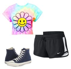 """""""Untitled #14"""" by gkbliss on Polyvore featuring NIKE and Converse"""