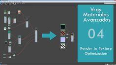 Vray Materiales avanzados - Parte04 - Optimización - Render to texture