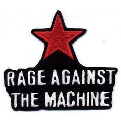 rage against the machine - Star hihamerkki Band Patches, Jacket Patches, Band Jacket, Rage Against The Machine, War, Shopping