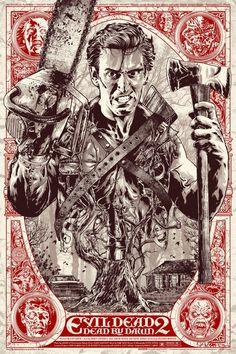 Evil Dead II: Dead by Dawn (1987) [1133 x 1700]
