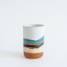 "Mociun Ceramics 8"" Tumbler - pretty sure I need a set of four, immediately!"