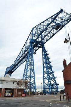 The Tees Transporter bridge – Middlesbrough - December 2015