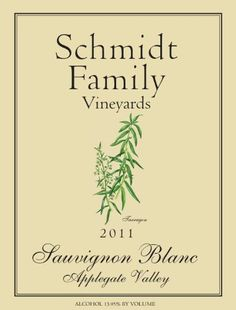 2011 Schmidt Family Vineyards Sauvignon Blanc 750 mL. Aromatic and fresh, with an invigorating characteristic. Slightly sweet, with tropical fruits, such as pineapple. Sauvignon Blanc, Cabernet Sauvignon, Wine Pineapple, Tropical Fruits, Pinot Noir, Schmidt, Vineyard, White Wines, Image Link