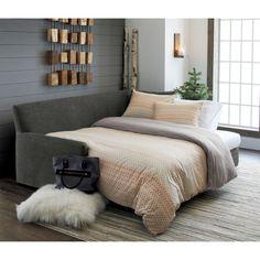 Reston Queen Sleeper Sofa | Crate and Barrel