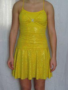 Yellow Tap Dance Costume | eBay