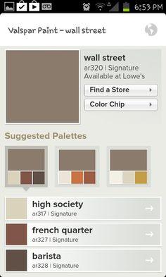 Valspar Paint Colors Puddle