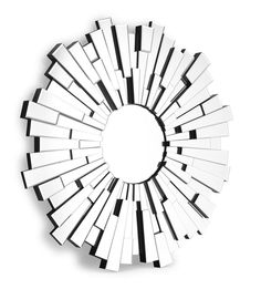 Flare Wall Mirror    #modern #glamour #decor #InteriorDesign