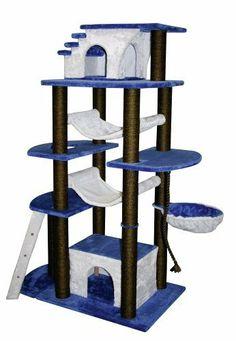 Cat Tree House, Cat House Diy, Cool Cat Beds, Cool Cats, Cat Castle, Diy Cat Tree, Cat Playground, Animal Room, Cat Room