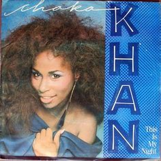 "Chaka Khan - This Is My Night (Vinyl 7"") 1984 Portugal"