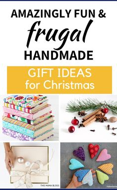 Looking for frugal and meaningful gift ideas for Christmas? Check out this list of cute gifts you can easily make yourself for your loved ones this Christmas Christmas On A Budget, Christmas Crafts, Budget Holiday, Christmas Ideas, Diy Gifts For Mom, Cute Gifts, Homemade Christmas Gifts, Homemade Gifts, Cheap Gifts