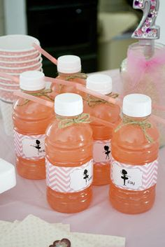 Free water label printable. Ballerina party. hannah paige photography: nails, crafts and printables