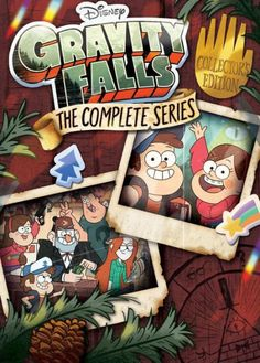 Gravity Falls: The Complete Series [Collector's Edition] + Exclusive Lithograph - Blu-ray Libro Gravity Falls, Gravity Falls Dipper, Dipper And Mabel, Mabel Pines, Dipper Pines, Gavity Falls, Desenhos Gravity Falls, Disney Xd, Disney Movies
